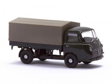 Goliath Express 1100 Pritschenwagen Grau mit Plane